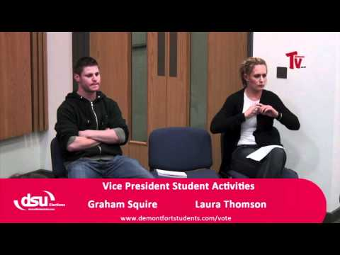 Candidates Questions - VP Student Activities - Part 1