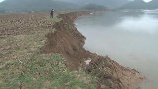 Tin Tức 24h Mới Nhất Hôm Nay : Nghệ An Sạt lở nghiêm trọng bờ sông Lam