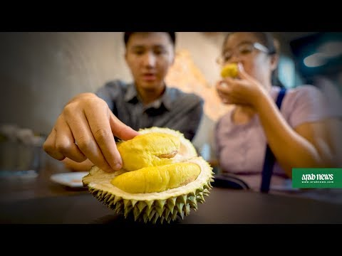 Singapore durian-themed cafe smells winning combination