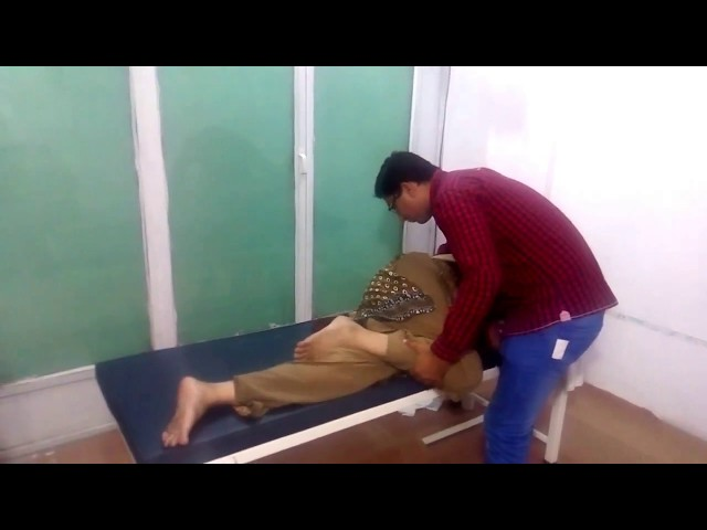 Chiropractor Aamir Shahzad CPT Adjustment for Low Back Pain & Leg Pain, Sciatica, Hip & Pelvis