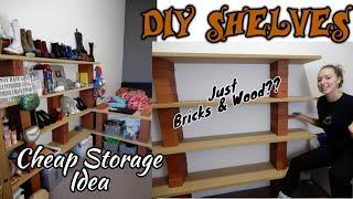 DIY Shelves - Storage Hack