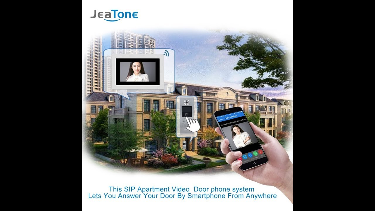 DoorBell Building Security Access Control System