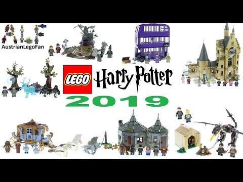Lego Harry Potter 2019 Compilation Of All Sets