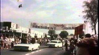 Lyndon B. Johnson Visit to Aerojet in Sacramento