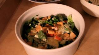 How To Make Chicken Caesar Salad With Homemade Dressing