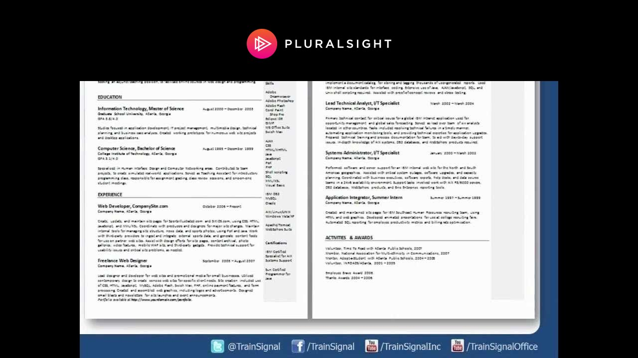 webinar top 10 resume tips for it pros youtube