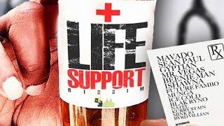 Mavado, Blak Ryno, Sean Paul, Beenie Man & More | Life Support Riddim Mix | 2015