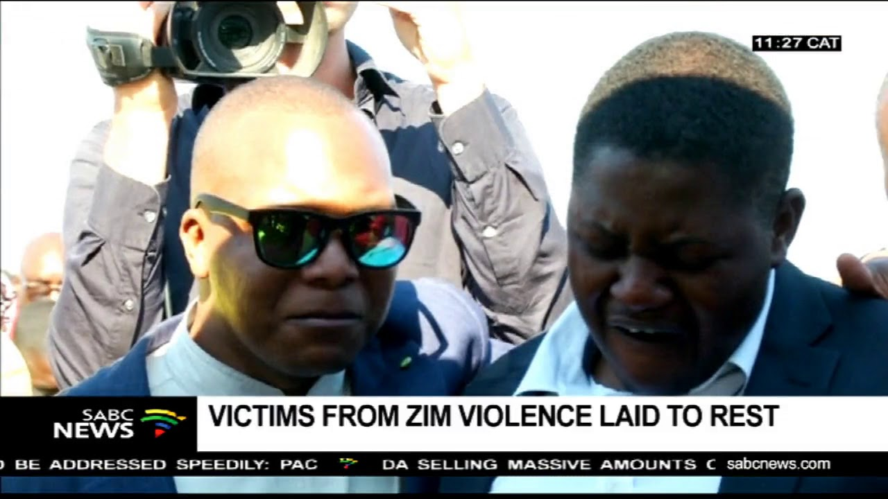 Victims of Zimbabwe election violence laid to rest