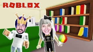 Roblox: KAAN IS EIS KING & Nina buys a house - Ice cream sellers stop | Ice Cream Van