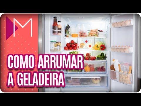 Como organizar a geladeira - Mulheres (21/03/18)