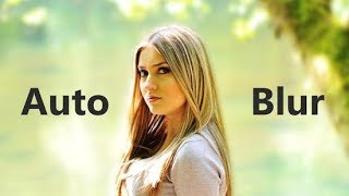 Automatic blur background photo capture in any android mobile