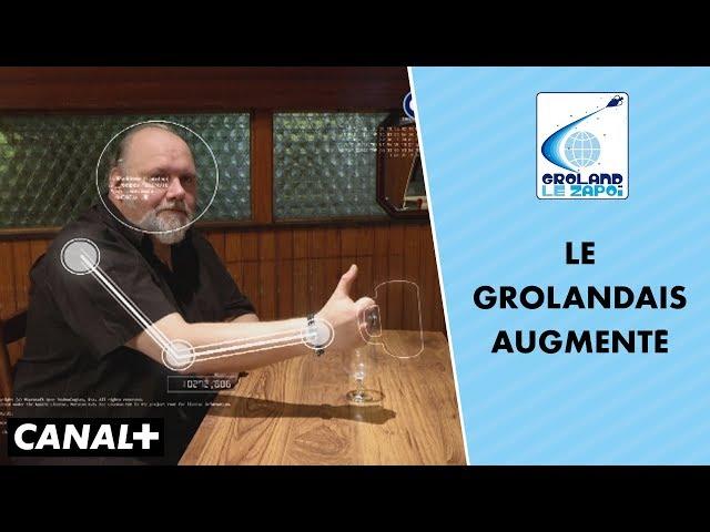 Transhumanisme : le Grolandais augmenté, c'est pour 2030 - Groland - Le Zapoï du 16/09