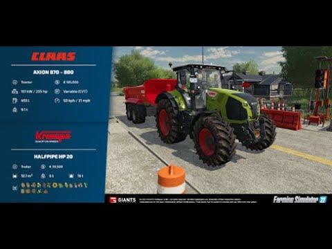 Farming Simulator 22 - Fact Sheets  