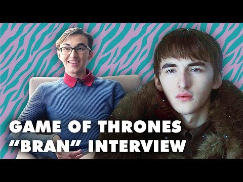 Game of Thrones S7 Isaac Hempstead Wright Interview in Tokyo Block FM