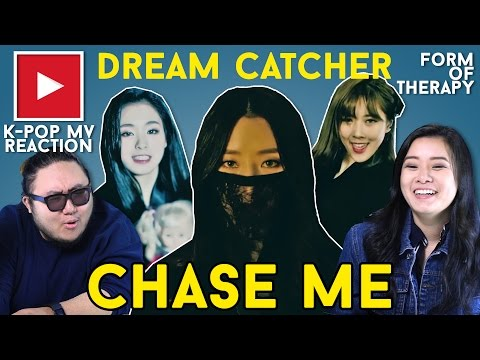 "Asian Americans React to Dreamcatcher ""Chase Me"""