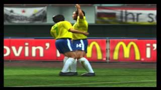 Classic Brazil vs Classic Germany - World Soccer Winning Eleven 8 (Xbox)