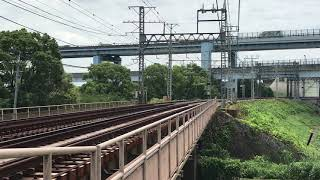 京阪特急8000系通過