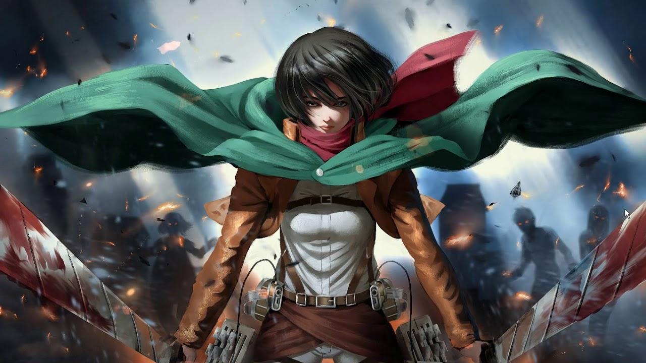 Mikasa Attack On Titan Wallpaper Engine Youtube
