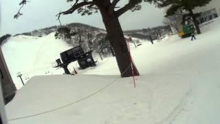 大山ホワイトリゾート スキー場 上の原エリアから豪円山エリア