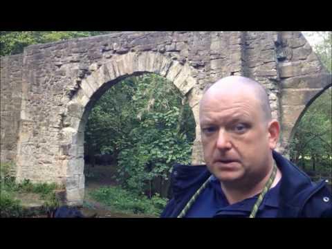The follies of Worden Park in Leyland, Lancashire