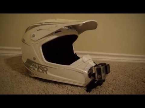 Ultimate Dirt Bike Helmet Gopro Set Up - My Motovlog Set Up