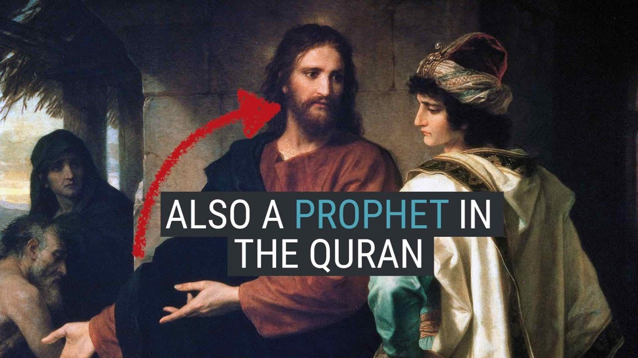 How Jesus Christ Is Depicted In Islam - YouTube