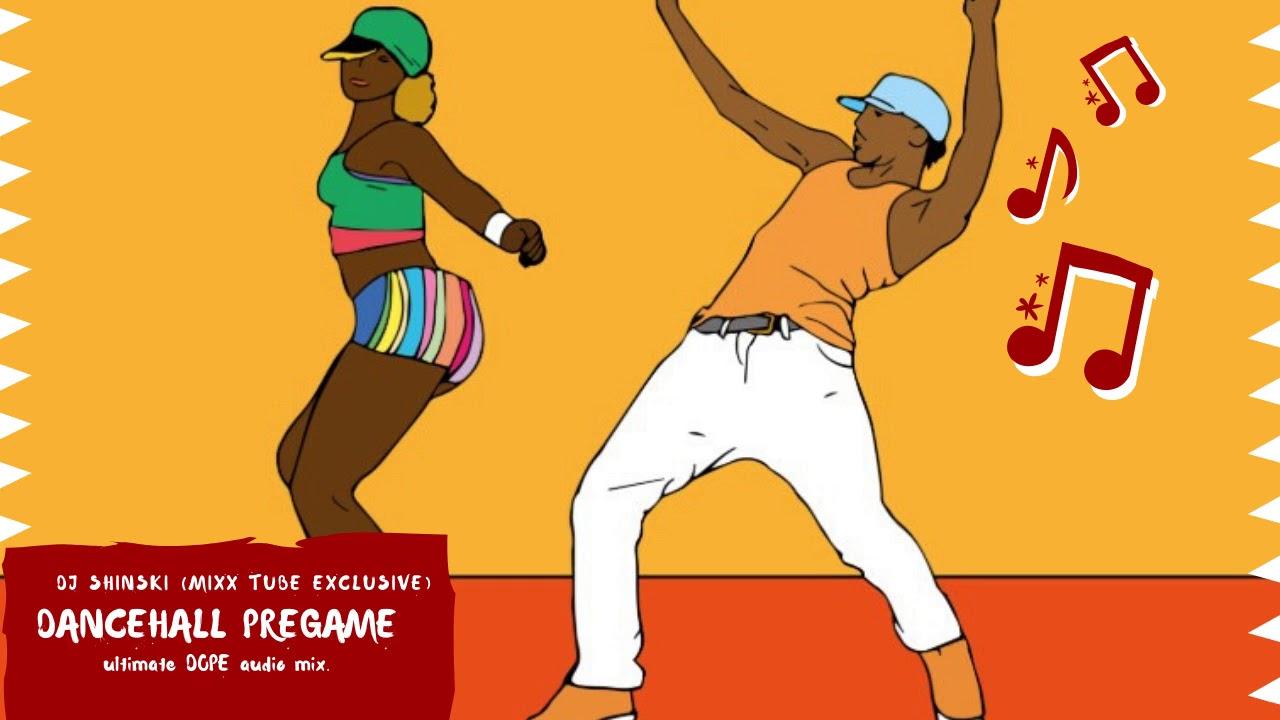 DANCEHALL PRE GAME MIX BY DJ SHINSKI