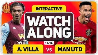 ASTON VILLA vs MANCHESTER UNITED With MARK GOLDBRIDGE LIVE