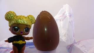 Огромное шоколадное яйцо ЛОЛ     Бабушкины Сказки