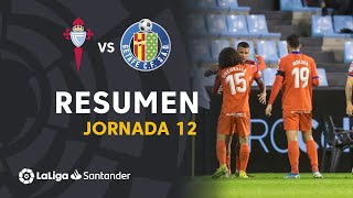 Resumen de RC Celta vs Getafe CF (0-1)