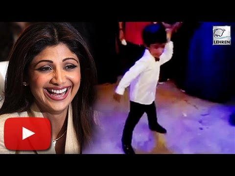 Shilpa Shetty's Son's CUTE Dance On Ranveer Singh Song | LehrenTV