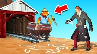 FIND the SECRET MURDERER! (Fortnite Murder Mystery)