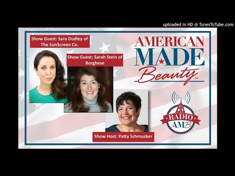 Sarah Stein of Borghese and Sara Dudley of the Sunshine Co. on RadioAMB