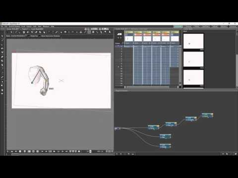 Opentoonz Tutorial 7 The Schematic And Basic Cut-out Animation