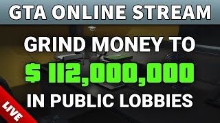 GTA Online GRINDING MONEY Live to $112,000,000 Legit | GRIND MILLIONS EASY (Sell MC Businesses Solo)