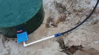 высокие грунтовые воды, дренаж из септика. Где НЕЛЬЗЯ ставить септик из бетонных колец