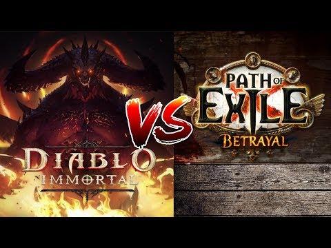 DIABLO 4 vs Path of Exile BETRAYAL