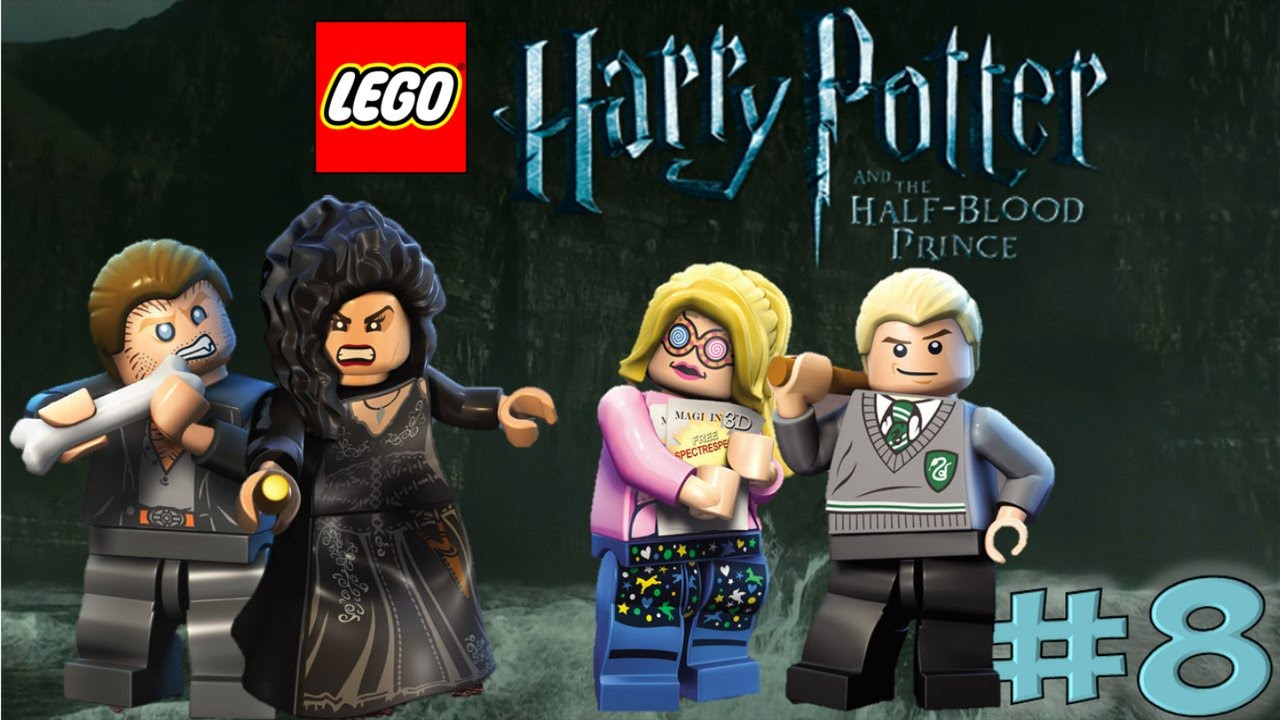 Lego Harry Potter Years 5 7 The Half Blood Prince Year 6 Youtube