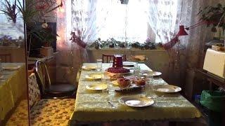 #432.готовлю праздничный стол,много болтаю,встречаем гостей