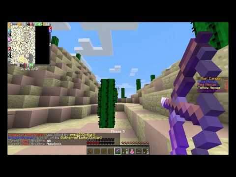 Jalen vs Hacker Minecraft Annihilation