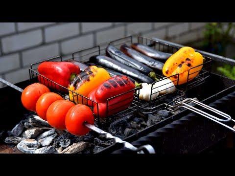 Овощи на мангале , аджапсандал.