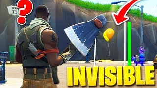 I MAKE INVISIBLE WITH A BUG AND TROLLEO TO NOOB WITH HACKS IN FORTNITE - Roier
