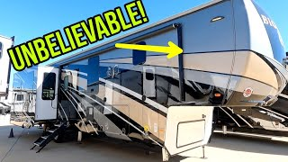 You could live in this BIG HORN Fifth Wheel RV Mansion!  3870FB