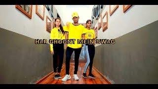 Har Ghoont Mein Swag | Dance Choreography | Tiger Shroff | Disha Patani | Kings United |