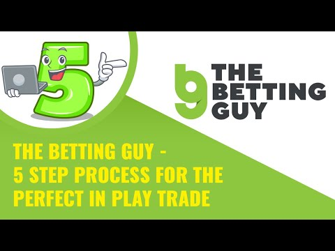 The Betting Guy -  5 Step Process For The Perfect In Play Trade