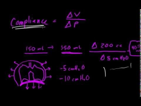 Pulmonary Compliance: The Basics