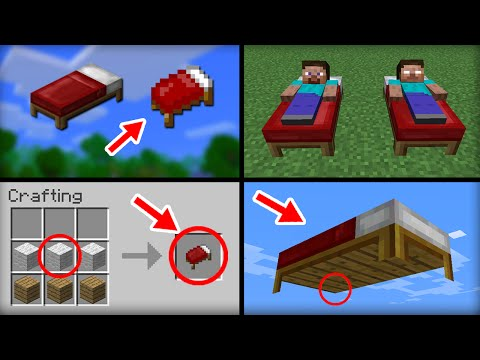 Thumbnail: ✔ Minecraft: 20 Things You Didn't Know About the Bed