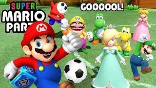 Gol Atan Kazanır! Super Mario Oynuyoruz - Panda ile Super Mario Party Üçüncü Bölüm