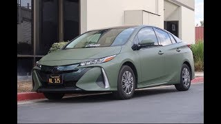 PRIUS PRIME MAKEOVER!! 3m Military Green/3M Gloss Lemon Sting