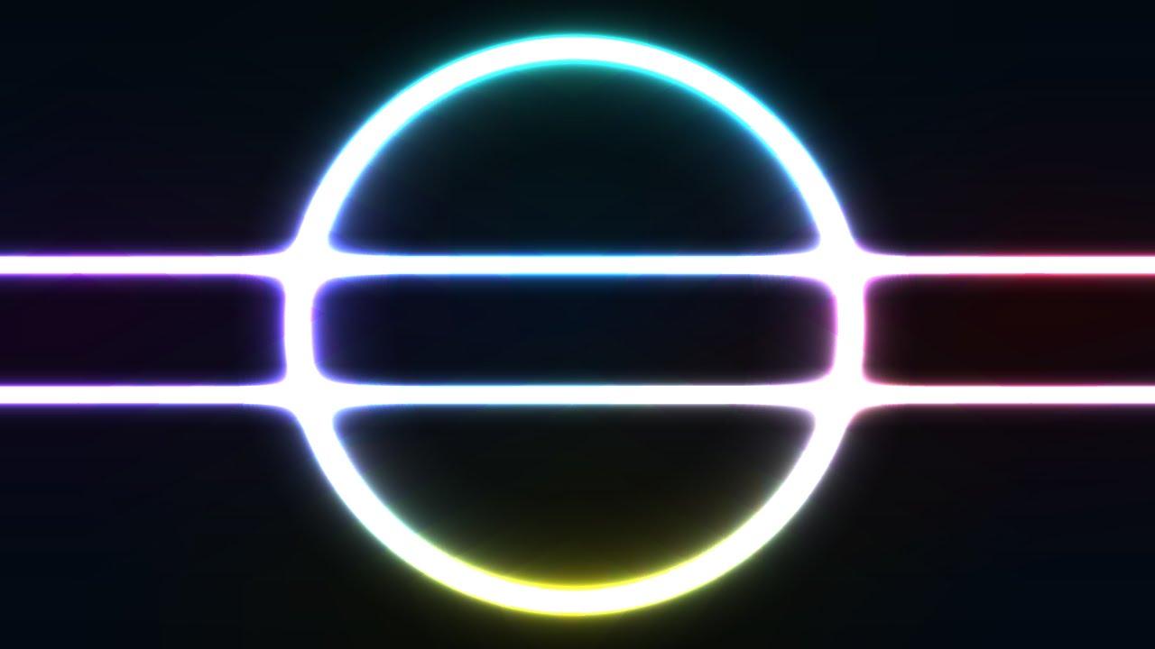 How to create NEON light effect in Adobe Illustrator  YouTube